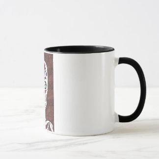 Floral Skelly Mug