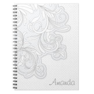 Floral Sketch Notebook