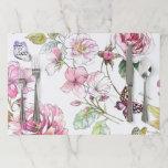 """Floral Sketch Placemat<br><div class=""""desc"""">Floral Sketch Placemat</div>"""