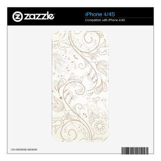 Floral Skins For The iPhone 4