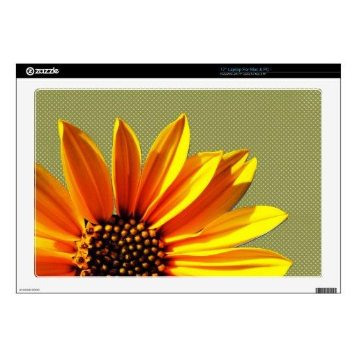 floral skin for laptop