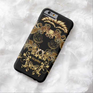 Floral Skull Barely There iPhone 6 Case