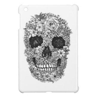 Floral Skull iPad Mini Cover