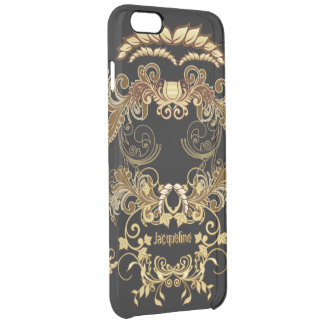 Floral Skull Uncommon Clearly™ Deflector iPhone 6 Plus Case