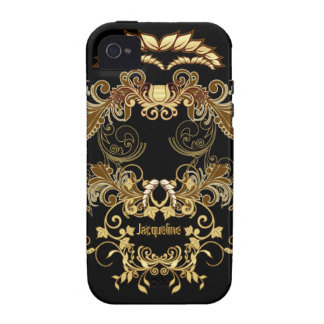 Floral Skull iPhone Case-Mate Case iPhone 4 Cases