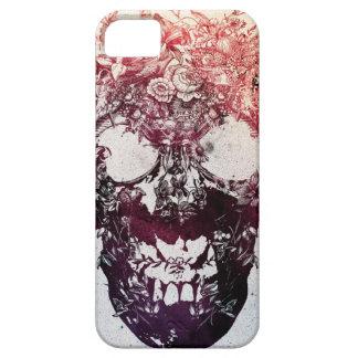 Floral Skull iPhone SE/5/5s Case