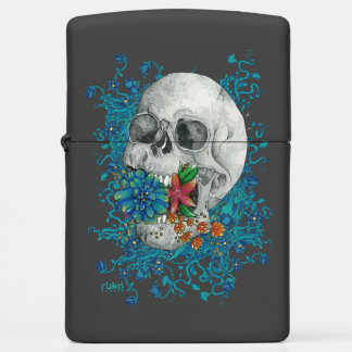 Skull Zippo Lighters | Zazzle Zippo Lighter Skull Designs