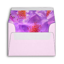 Floral Small invitation and note card envelope