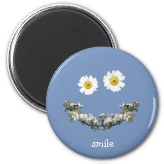 Floral Smile Magnet