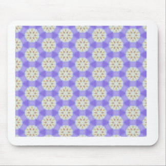 Floral Snowflakes 1 Mouse Pad