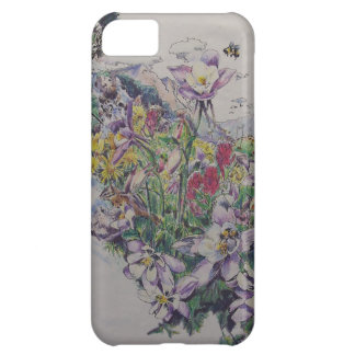 Floral Songbirds Case For iPhone 5C