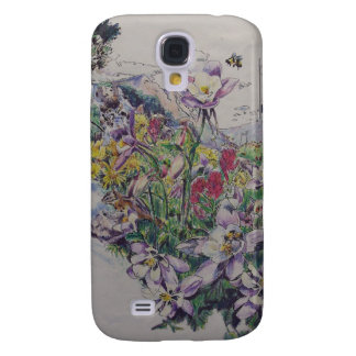 Floral Songbirds Galaxy S4 Cover