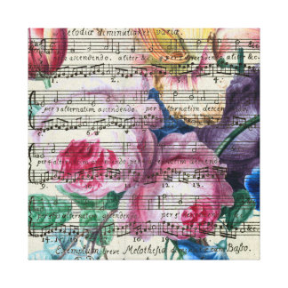 Floral Songs Canvas Print