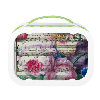 Floral Songs Lunch Box