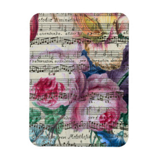 Floral Songs Magnet