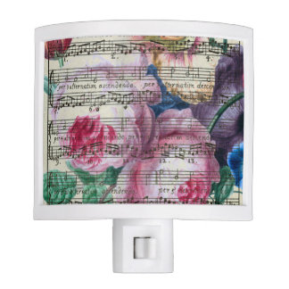 Floral Songs Night Light