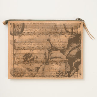 Floral Songs Travel Pouch