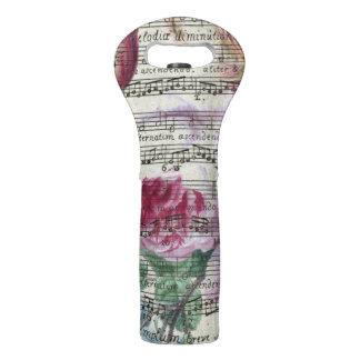 Floral Songs Wine Bag