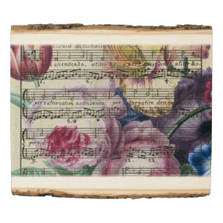 Floral Songs Wood Panel