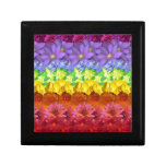 Floral Spectrum Keepsake Box