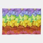 Floral Spectrum Towels