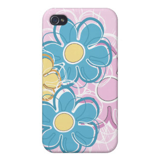 Floral Splash iPhone 4 Cover