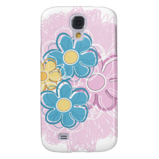 Floral Splash Samsung Galaxy S4 Cover