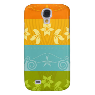 Floral Splash  Samsung S4 Case
