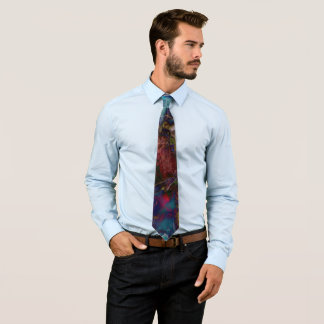 Floral Splash Tie