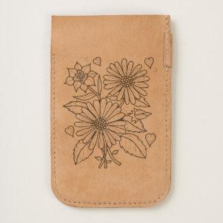 Floral Spray Line Art Design iPhone 6/6S Case