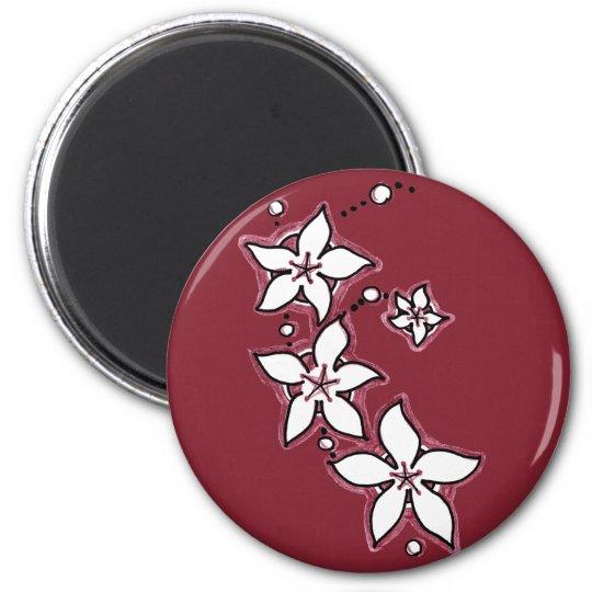 Floral Spray Magnet
