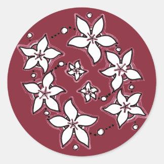 Floral Spray Variation Sticker