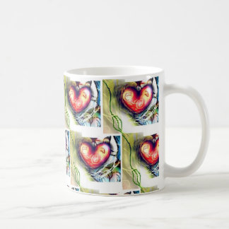Floral Spring Hearts Mug