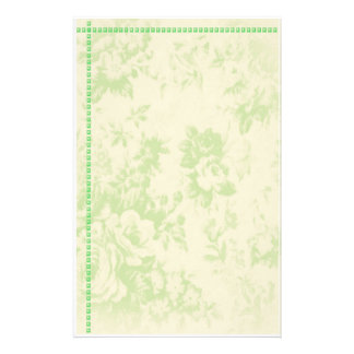 floral staionary stationery