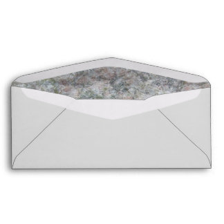 Floral Standard #9 Check Envelope with Window