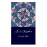 Floral Star Double-Sided Standard Business Cards (Pack Of 100)