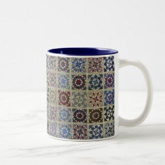 Floral Stars Coffee Mugs
