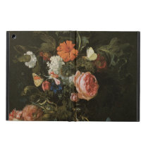 Floral Still Life Flowers in Vase, Vintage Baroque iPad Air Case