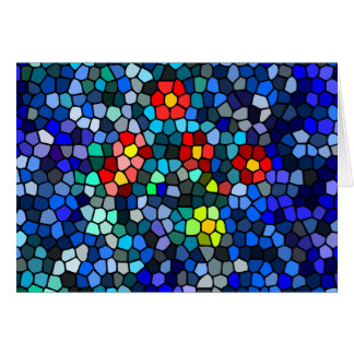 Floral Strained-glass Card