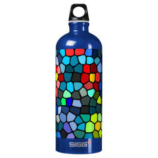 Floral Strained-glass Water Bottle