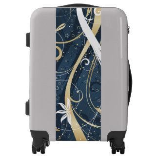 Floral Streams Luggage