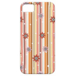floral strip vol2 iPhone 5 case