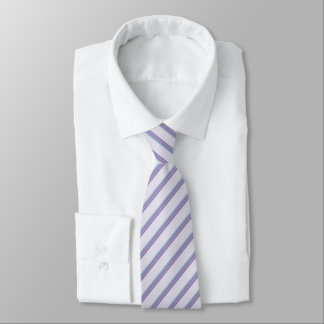 Floral Striped Tie