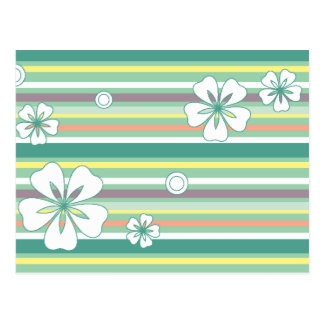floral stripes_4 postcard
