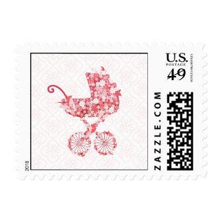 Floral Stroller Stamp