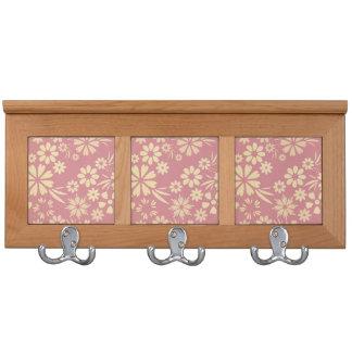 Floral, suave, femenino, elegante, rosado,