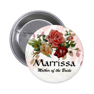 Floral subió botón conocido del banquete de boda