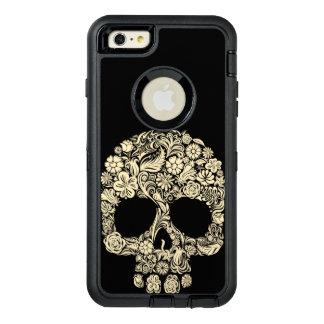 Floral Sugar Skull OtterBox Defender iPhone Case