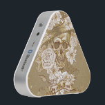 """Floral Sugar Skull Pieladium Speaker<br><div class=""""desc"""">Floral Sugar Skull Pieladium Speaker. Spice up any party with the Pieladium, a portable Bluetooth speaker that delivers undeniably bold sound. With a Bluetooth range of 33ft, this speaker lets you switch tracks from across the room without pausing the fun! The Pieladium is designed with a rechargeable battery that lasts...</div>"""