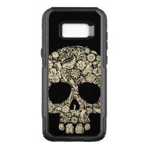 Floral Sugar Skull Samsung Galaxy S8  Case